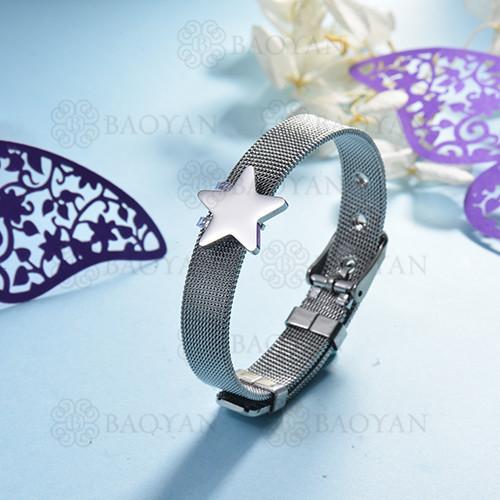 pulsera de charm en acero inoxidable para mujer -SSBTG142-16127-S