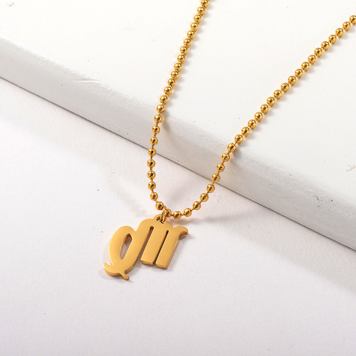 Collar de zodiaco con colgante de constelación de Virgo de oro de moda para mujer