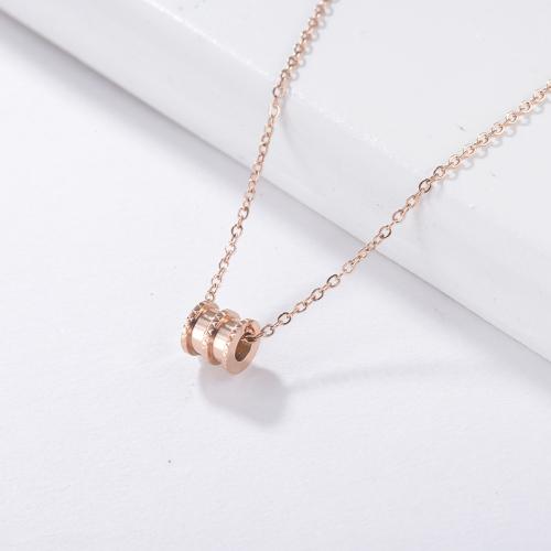 Rose Gold necklace Rose gold pendant