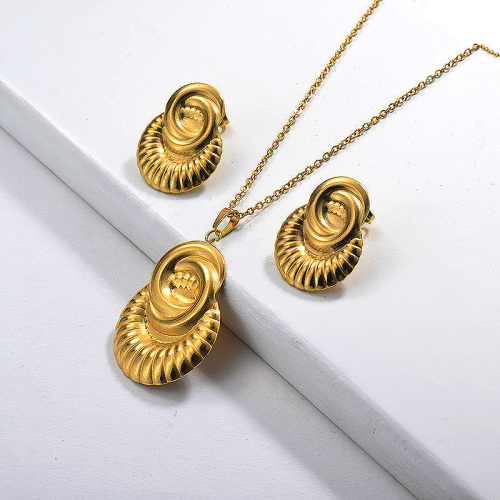 Ensembles de bijoux plaqués or