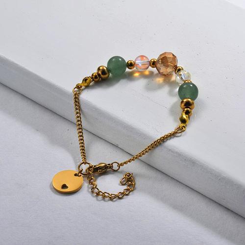 Bracelets de perles avec breloque en perles d'eau douce003