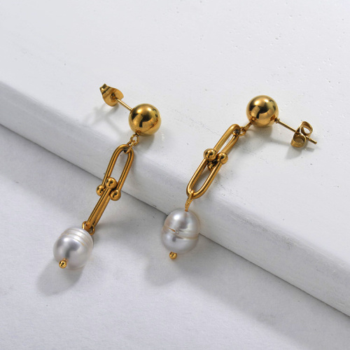 Fresh Water Pearl Drop Earring