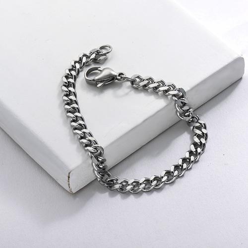 Stainless Steel Chain Bracelet for Women and For Men