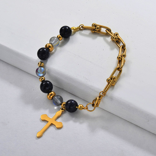 T Chain Charm Bracelet for Women