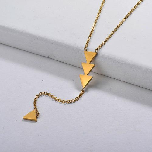 Collar en forma de Y triangular