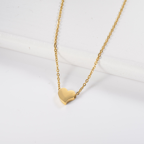 gold small necklace fashion