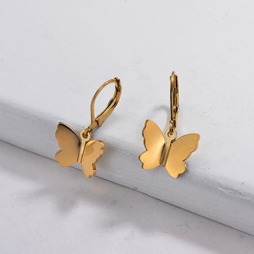 Wholesale Stainless Steel Butterfly Earrings