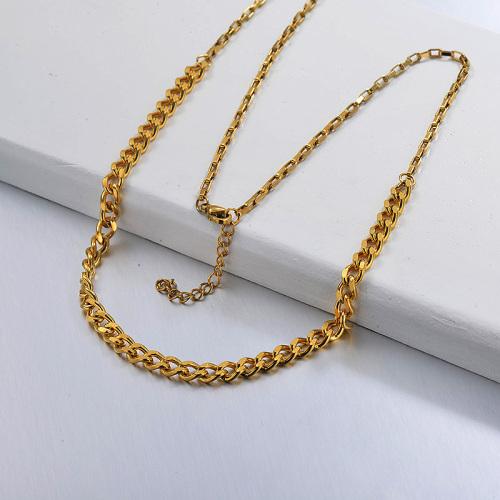 تصاميم سلسلة ذهبية للسيدات