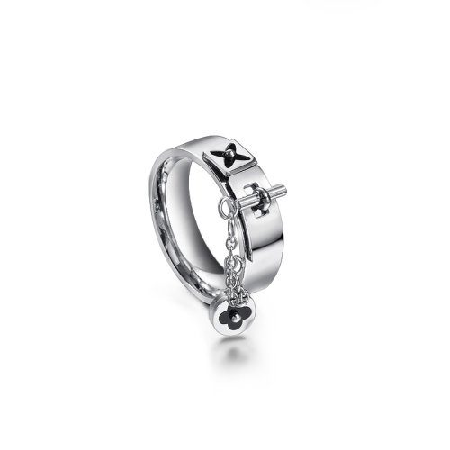 Wholesale Stainless Steel Fashion Silver Flower Boys Gold Ring