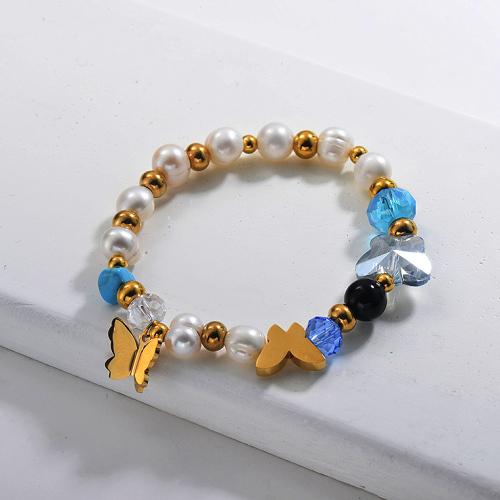 Pulseras de Perlas de Agua Dulce -SSBTG142-29642