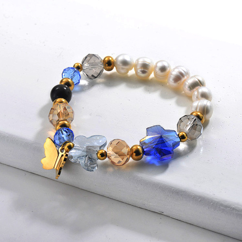Pulseras de Perlas de Agua Dulce -SSBTG142-29641