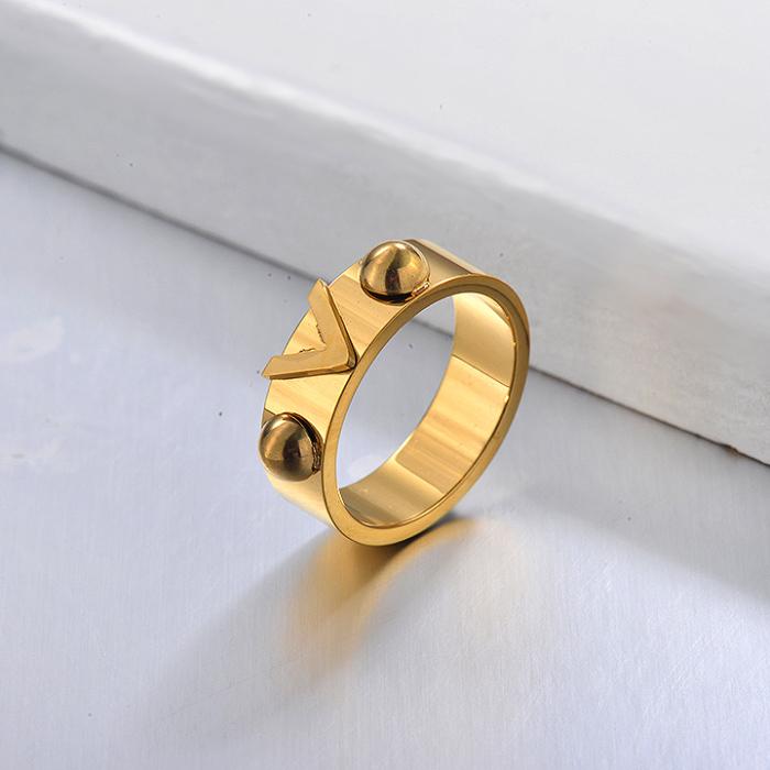 Gold Plated V Ring for Grils
