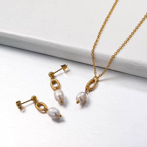 Fresh Water Pearl Jewelry Sets