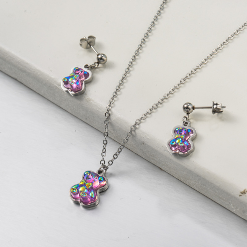 Stainless Steel Jewelry,Jewelry Sets—SSCSG142-34181