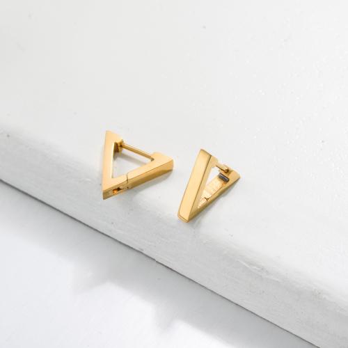 Bijoux en acier inoxydable, boucles d'oreilles—SSEGG143-33433