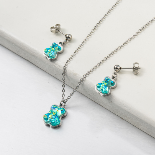 Stainless Steel Jewelry,Jewelry Sets—SSCSG142-34183