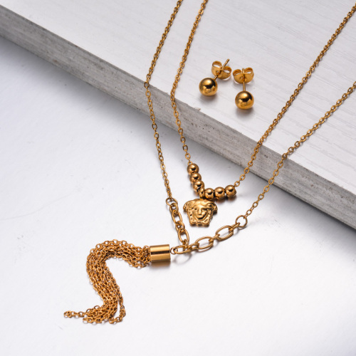 Stainless Steel Jewelry,Jewelry Sets—SSCSG142-33613