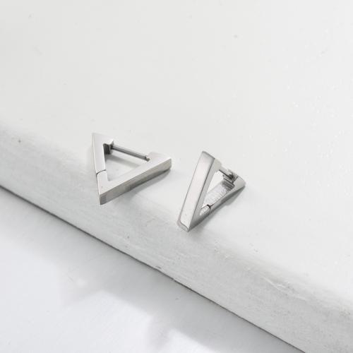 Bijoux en acier inoxydable, boucles d'oreilles—SSEGG143-33432