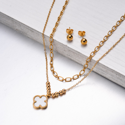Stainless Steel Jewelry,Jewelry Sets—SSCSG142-33614