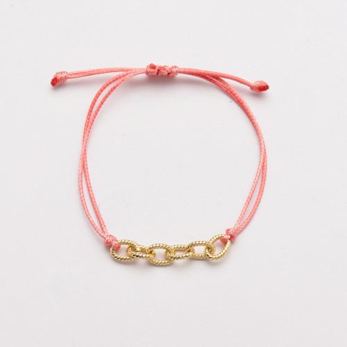 Pulseras de Cadena de Eslabones Rosas para Mujer -SSBTG142-33781