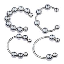 Stainless Steel Penis Ring With Detachable Balls