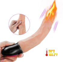 Heating Realistic Huge Dildo Vibrator for Woman Soft Artificial Big Penis G Spot Clits Stimulator Female Masturbator Massager