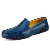 New Brand Quality Men Loafers Leather Breathable Men's Casual Shoes Men Driving Oxfords Shoe Flats Moccasins Shoes