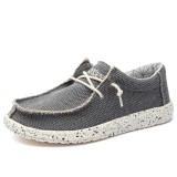 Men's casual denim shoes smooth shoes summer casual shoes