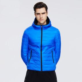 2020 New lightweight men's down coat stylish casual men jacket male hooded jacket brand men clothing