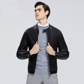 2020 New Men's Leather Jacket Men's Spring Coat Stylish Casual Men's Jacket High-quality Men's Clothing