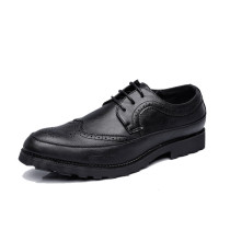 High Quality Leather Mens Brogue Shoes Luxury Brand Man Dress Shoes Breathable Flats Waterproof Driving Shoes Slip on Moccasins
