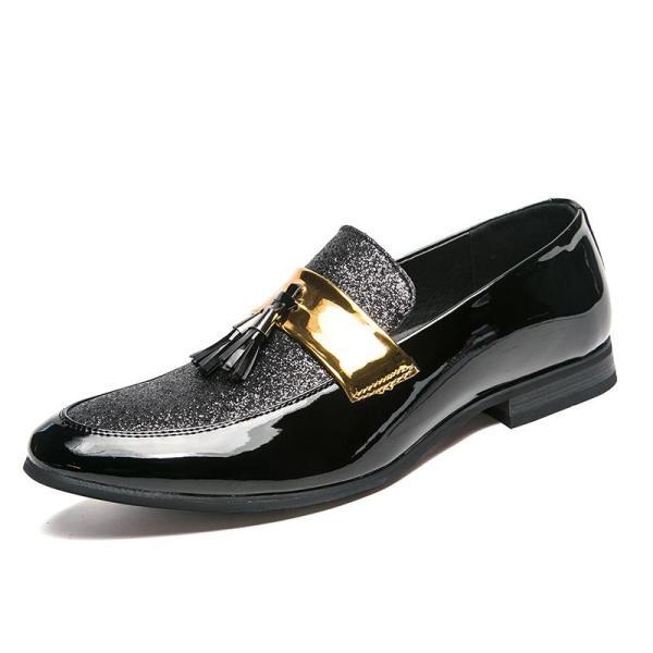 Men's gold and Silva Mocha shoes