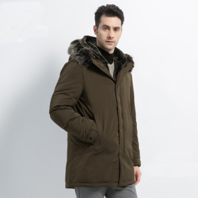 New winter men's jacket hooded men's jacket high quality men's clothing