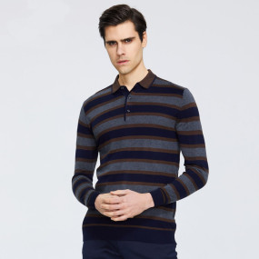 Spring 2020 New Men's Sweater High Quality Round Neck Sweater Brand Apparel