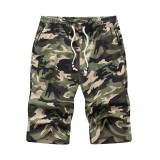 Summer Camouflage Shorts Men Casual Mens Boardshorts Breathable Short Pants Man Sportswear Fashion Beach Shorts Bodybuilding