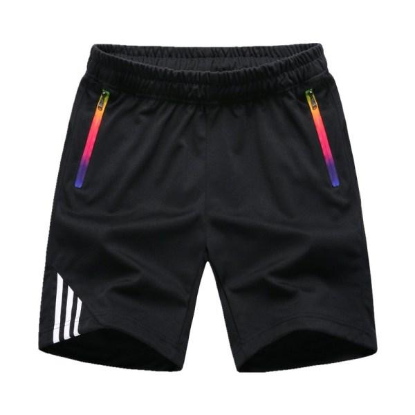 Striped Shorts Men Summer Men's Sportswear Casual Boardshorts Man Zipper Pocket Breathable Mens Short Trousers New Fashion