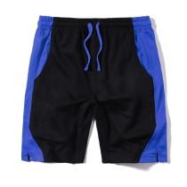Patchwork Shorts Men Outwear Summer Men's Beach Shorts Quick Drying Drawstring Short Pants Man Sportswear Boardshorts Homme