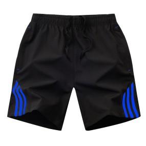 wholesale Summer Mens Shorts Streetwear Men's Sportswear Casual Boardshort Man Short Masculino Side Stripe bodybuilding Shorts Men 8XL
