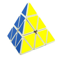 YJ8331 Guanglong Pyraminxcube Magic Cube- White