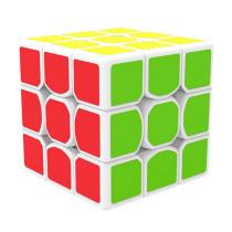 QiYi MFG X-man Design Tornado 3x3x3 Speed Cube - White