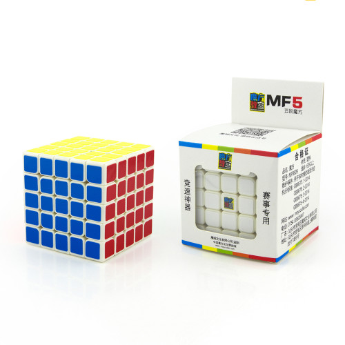 MoYu MF5 5x5x5 Sticker Speed Cube Magic Cube Puzzle