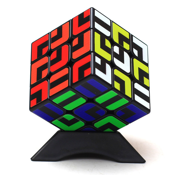Z-ZUBE Maze 3x3 Magic Cube