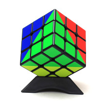 Z-cube Rainbow Type 3x3 Magic Cube Black