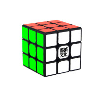 MoYu WeiLong GTS 2M 3x3 Magic Cube- Black