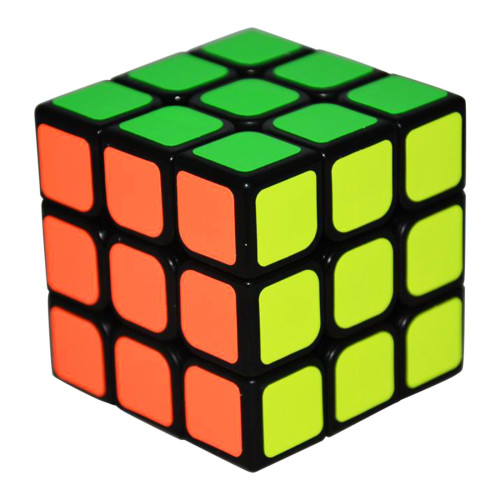 QiYi MoFangGe QiHang 3x3x3 Magic Cube - Black