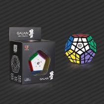 Qiyi Galaxy Five Corners Brain Teaser Magic Cube Speed Twisty Puzzle Toy - Black