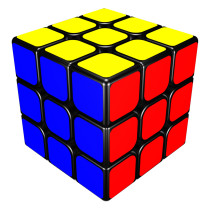 YJ Guan Long 3x3x3 Magic Cube Black
