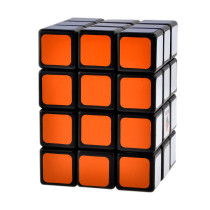 CubeTwist 3X3X4 Camouflage Magic Cube - Black