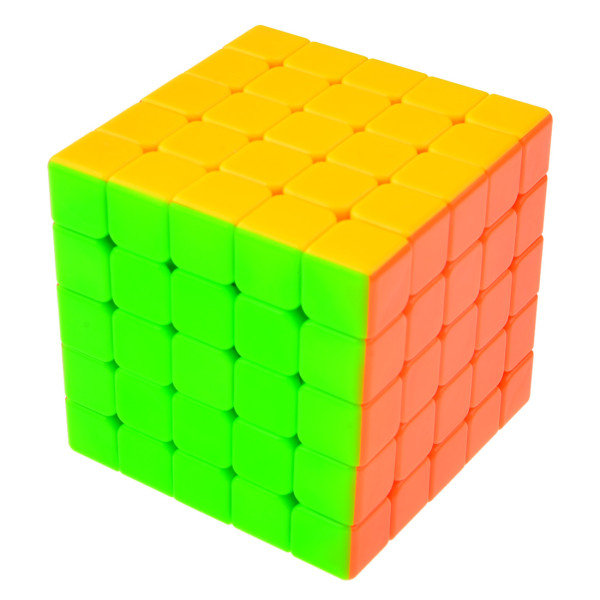 Cyclone Boys Jisuzhiwu 5x5 Stickerless Magic Cube