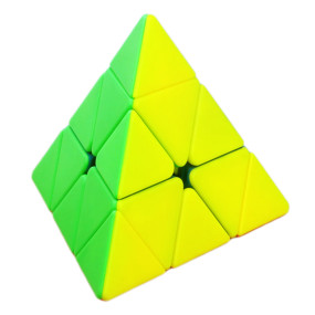 YJ RuiLong Pyraminxcube Magic Cube Educational Toys for Brain Trainning - Colorful